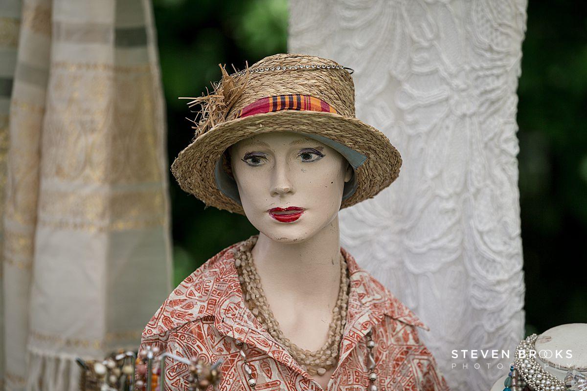Norfolk photographer steven brooks photographs Britain Does Vintage at Stody Lodge vintage hat
