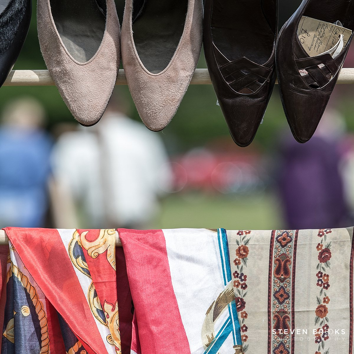Norfolk photographer steven brooks photographs Britain Does Vintage at Stody Lodge vintage clothes and shoes