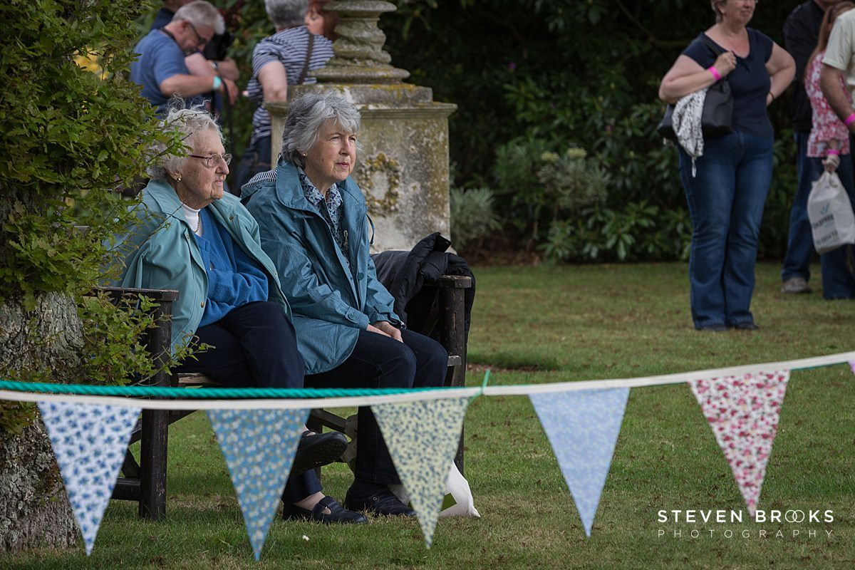 Norfolk photographer steven brooks photographs a couple of visitors at Britain Does Vintage in Norfolk