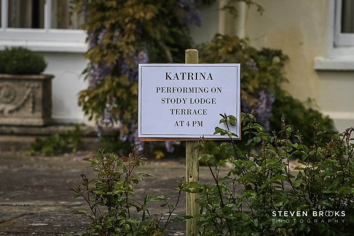 Norfolk photographer steven brooks photographs a csign for Katrina at Britain Does Vintage in Norfolk
