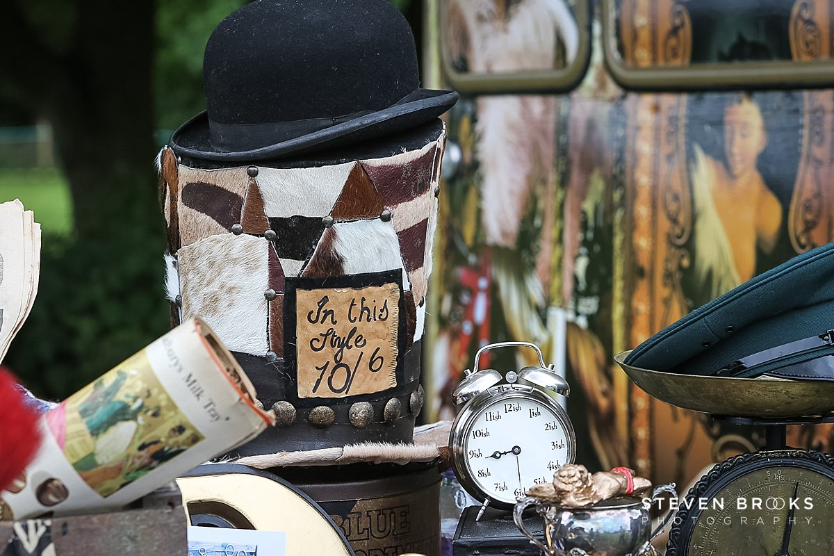 Norfolk photographer steven brooks photographs vintage objects at Britain Does Vintage in Norfolk