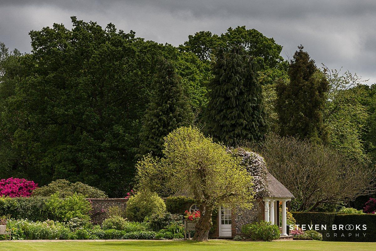 Norfolk photographer steven brooks photographs the summer house on the Stody Lodge estate in Norfolk
