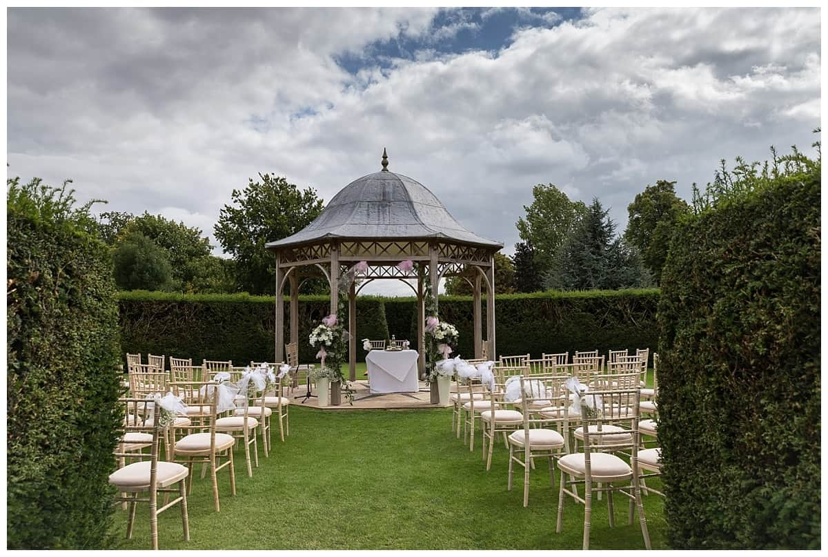 The Octagon where wedding ceremonies can be conducted at chippenham park