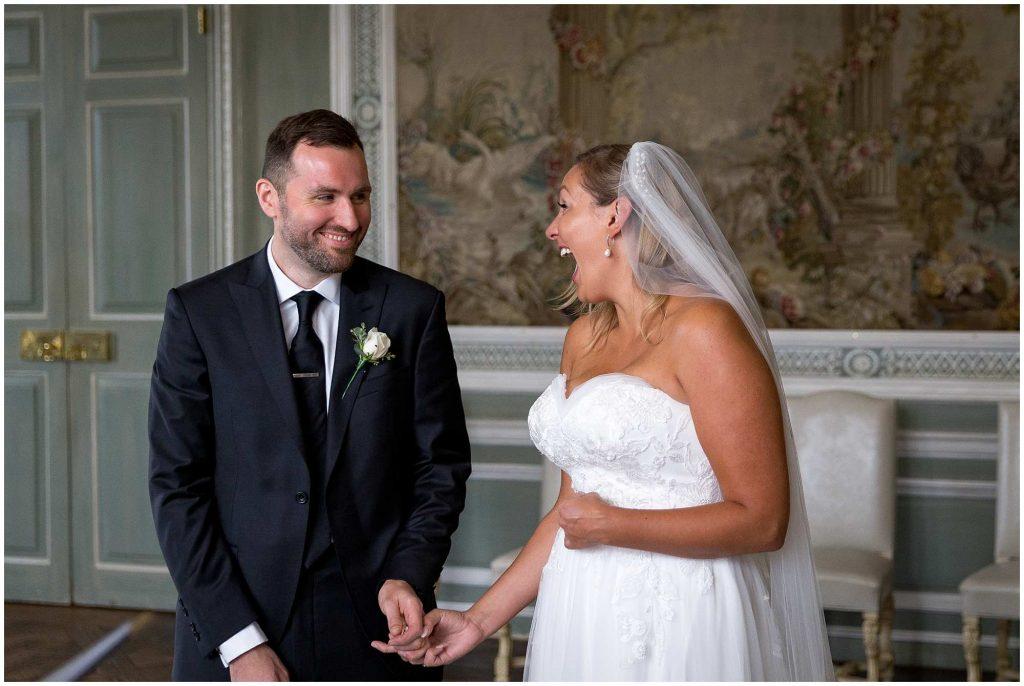Helena & Stuart: Leeds Castle Wedding, Kent